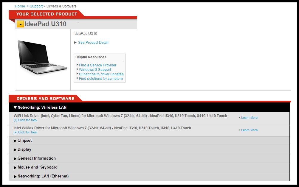 Драйверы На Lenovo U310